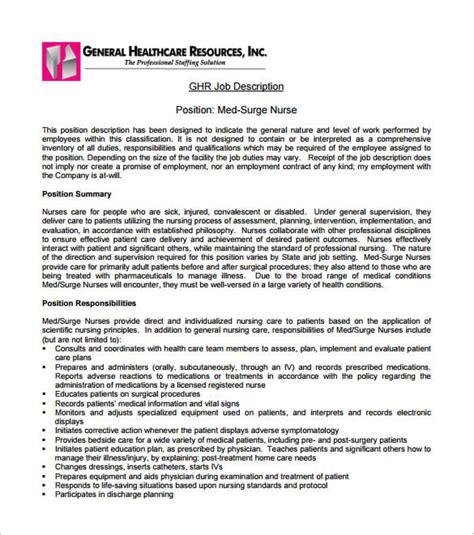 Commercial Lawyer Job Description Nurse Job Description Targetjobs