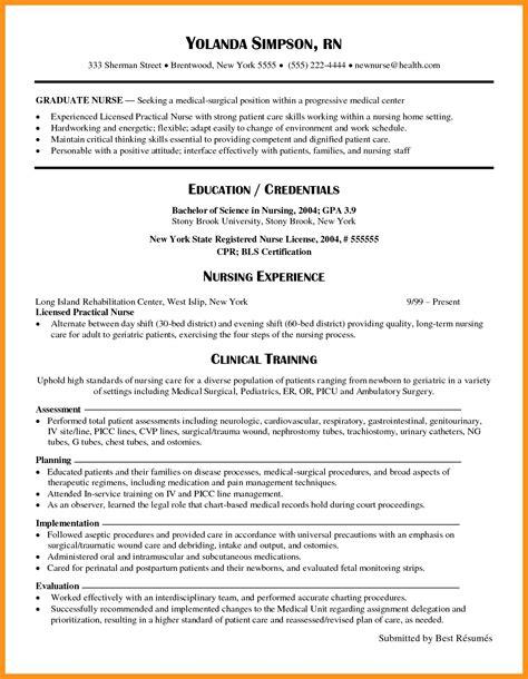nursing resume cover letter new grad new graduate nurse resume sample new grad nursing resume - Cover Letter New Grad Nurse