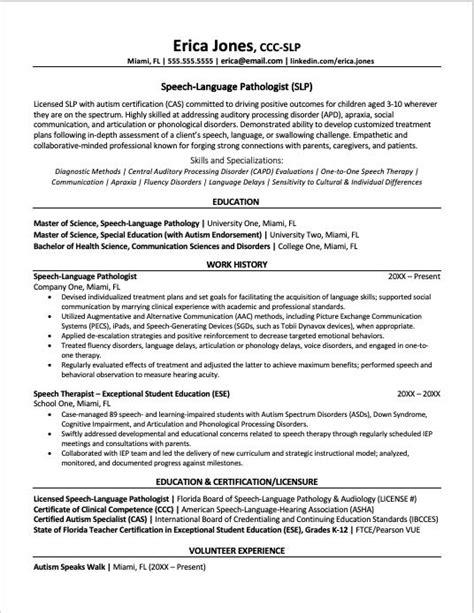 nursing resume bullets slp resume example advanced travel therapy