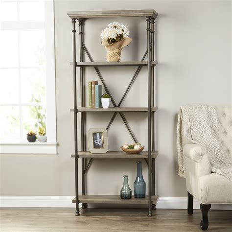 Oakside Etagere Bookcase