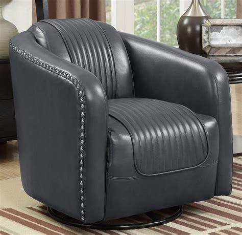 Oakvale Swivel Barrel Chair