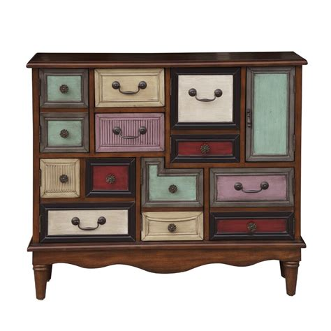 Oatfield Eclectic 6 Door Accent Chest