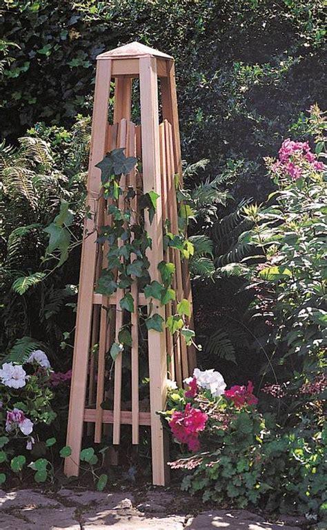Obelisk Garden Trellis