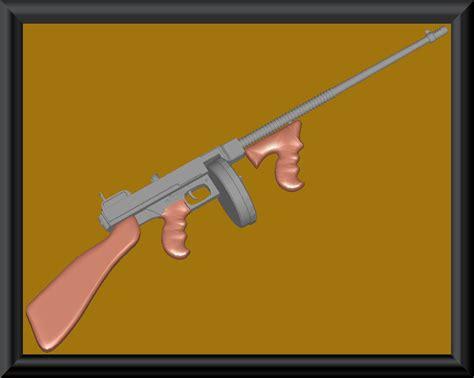 Tommy-Gun Oblivion Tommy Gun Mod.