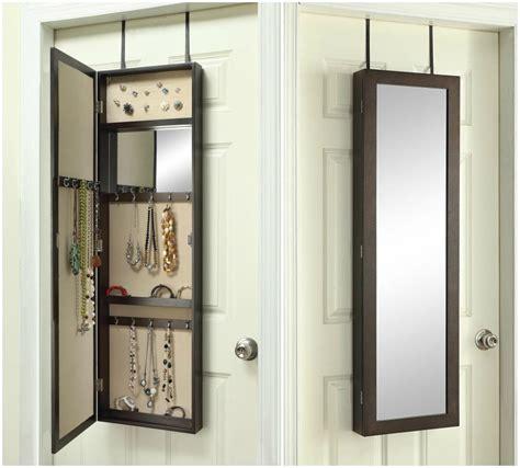 Ocala Over the Door Jewelry Armoire with Mirror