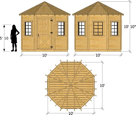 Octagon Shed Plans