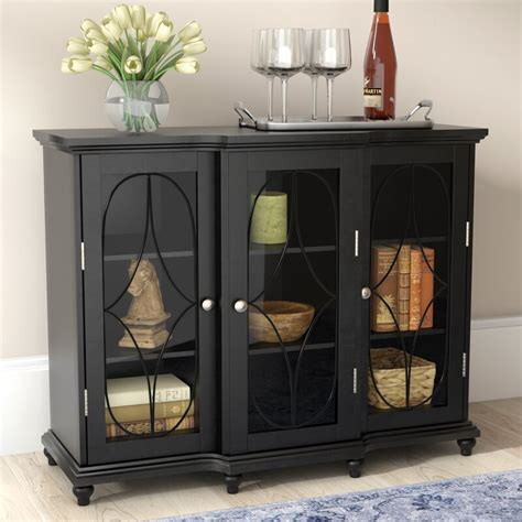 Odell 3 Doors Accent Cabinet