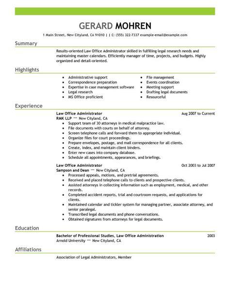 resume for office administration cv template for grad school resume for office office administration sample resume