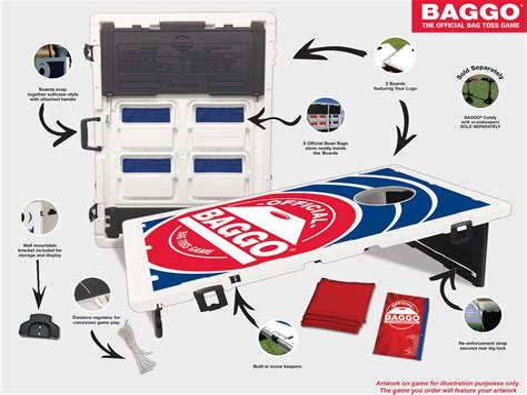 Official Baggo Dimensions