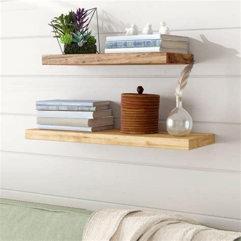 Oglesby Cedar True 2 Piece Floating Shelf Set