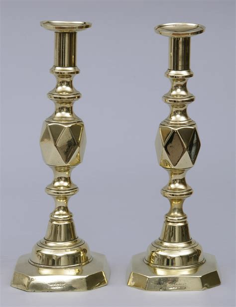 Brass Old Brass Candlesticks.