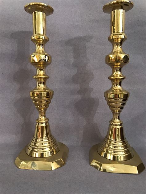 Brass Old Brass Candlesticks Value.