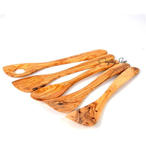 Olive Wood Utensils  Ebay.