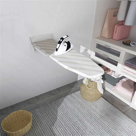 On Wall Ironing Board