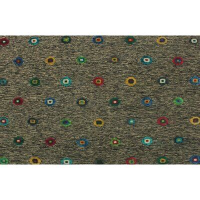 One-of-a-Kind Alverson Kilim Hand-Woven Brown Are Ru by