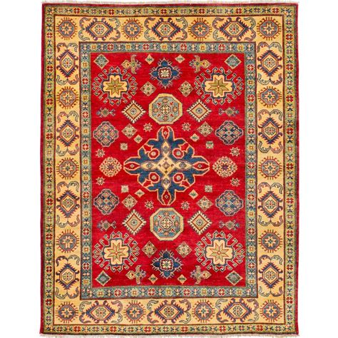 One-of-a-Kind Chanson Hand-Knotted Wool Red Area Ru by