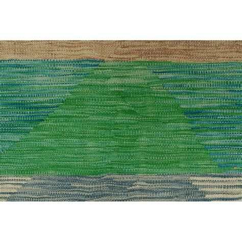 One-of-a-Kind Dickie Kilim Rusty Hand Woven Wool Red Area Ru by