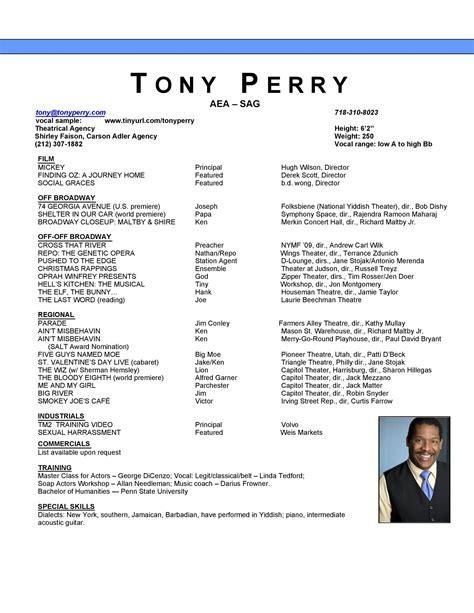 online acting resume builder online acting resume builder resumesformater acting resume generator - Acting Resume Builder