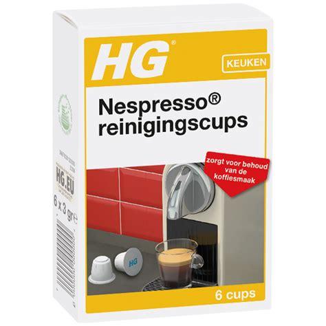 Ontkalking Nespresso