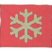 Oosterhout Snowflake Plush Fleece Throw Blanke by