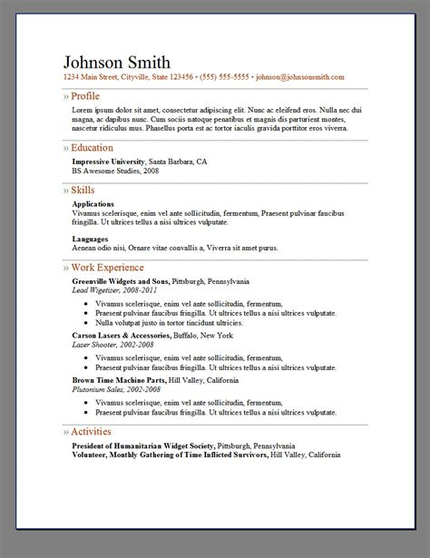 open resume template microsoft word 2007 archived in microsoft word how can i create a resume - How To Open Resume Template Microsoft Word 2007