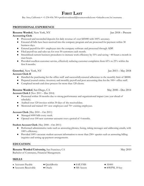 optimal resume administrator login 3 accounting clerk resume samples examples download now - Optimal Resume Login