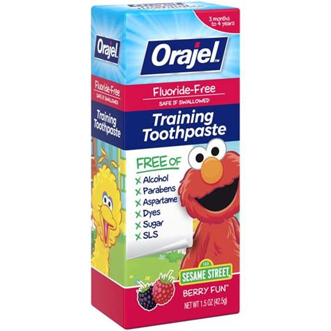 Orajel Training Toothpaste Safe For Dogs