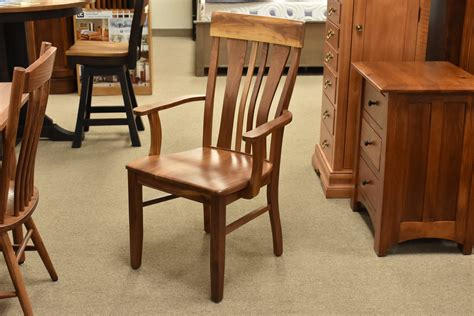 Oreilly Zigzag Solid Wood Dining Chair