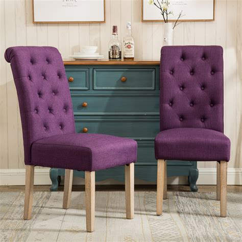 Orland Solid Wood Parsons Dining Chair (Set of 2)