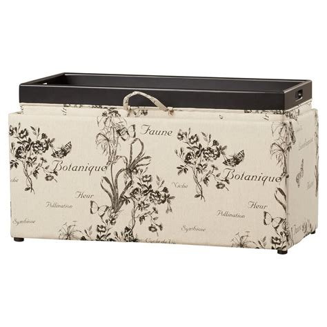Orleans Upholstered Storage Bench