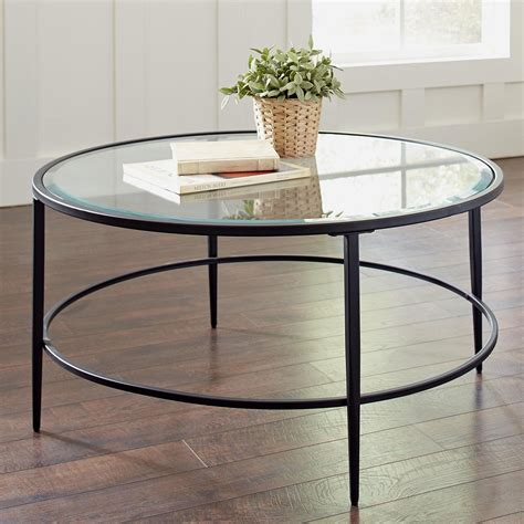 Orpha Glass Top Coffee Table