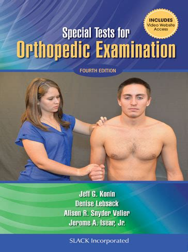 orthopedic testing textbooks