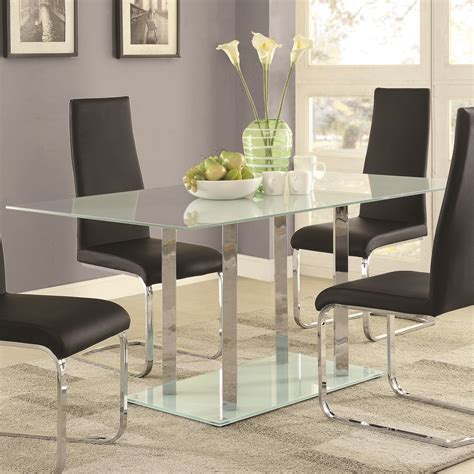 Osprey Glass Dining Table