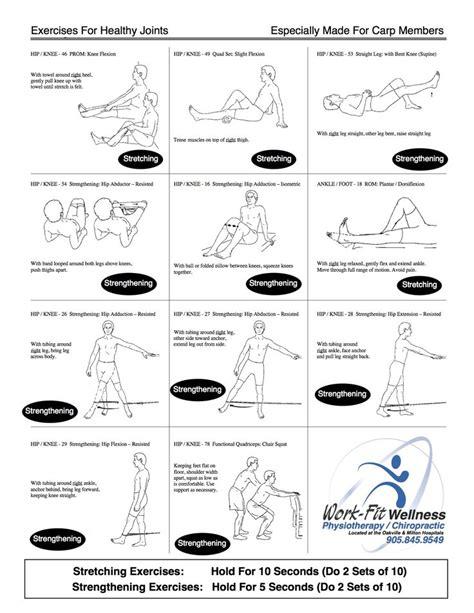 osteoarthritis in hip exercises