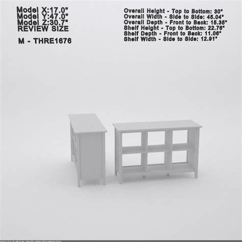 Ottman Cube Unit Bookcase in Antique White