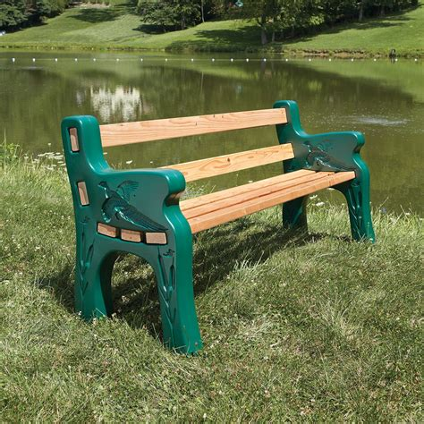 outdoor benches kits