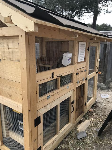 outdoor rabbit shed