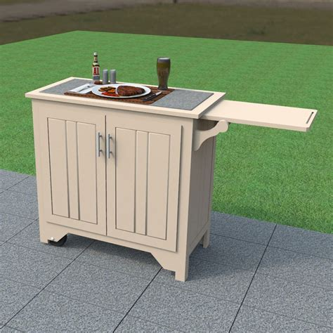 Outdoor Bbq Woodworking Plans