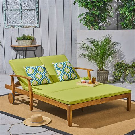 Outdoor Double Chaise Lounger