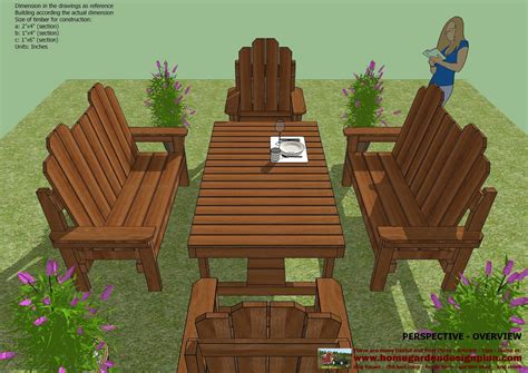 Outdoor Furniture Plans Table