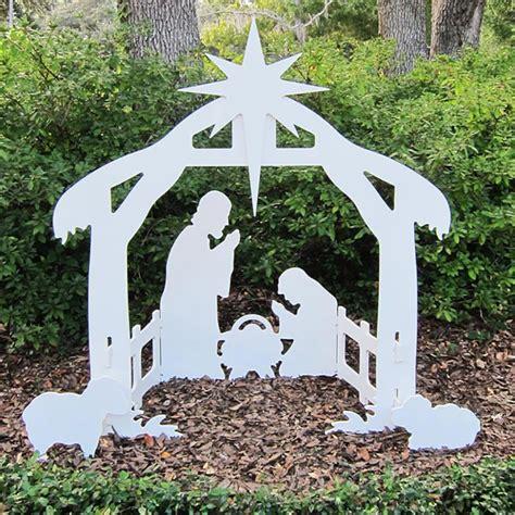 Outdoor Nativity Scene Woodworking Plans
