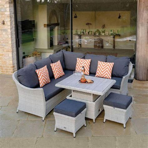 Outdoor Sofa Dining Set