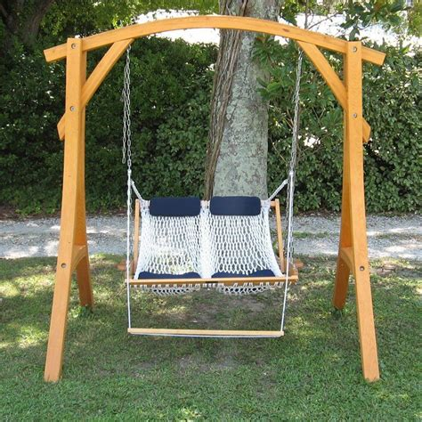 outer banks double rope porch swing