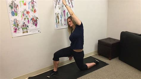 outer hip flexor stretches and strengthening the ql