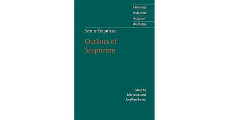 Read Books Outlines of Scepticism Online