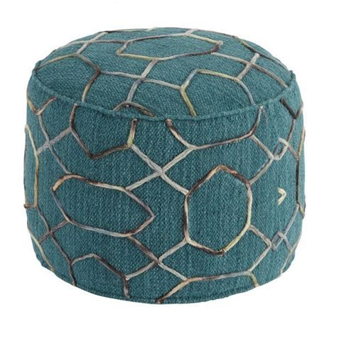 Overdyed Pouf