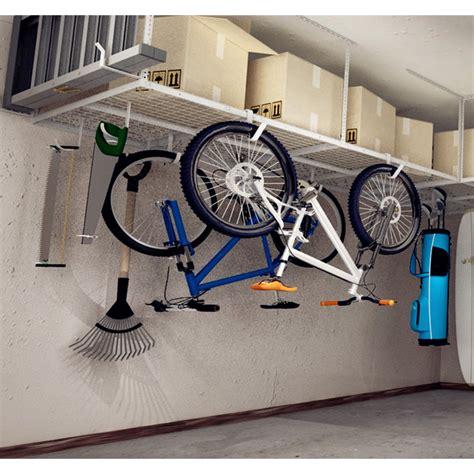 Overhead Garage Adjustable Ceiling Storage Rack