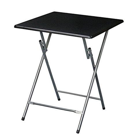 Oversized Metal Folding Tray Table