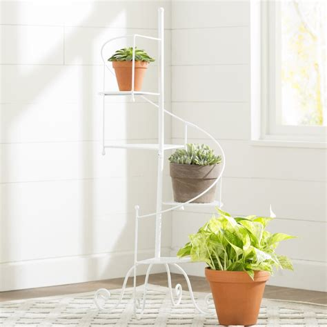 Oxalide Multi-Tiered Triangular Plant Stand