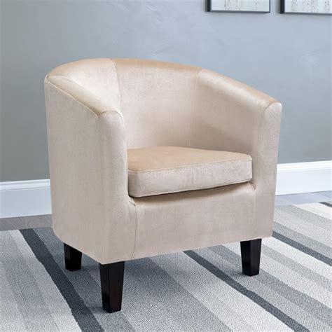 Oxford Velvet Barrel Chair